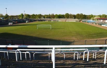 Weißenseer Weg 51-55  -  Stadion im Sportforum Hohenschönhausen - (C) Peter Hahn fotoblues