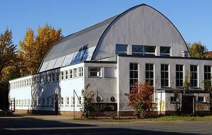 Lehrter Str. 59  -  Sporthalle am Poststadion - (C) Peter Hahn fotoblues