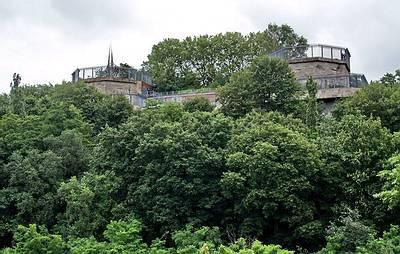 Bunkerwand im Volkspark Humboldthain - (C) Peter Hahn fotoblues