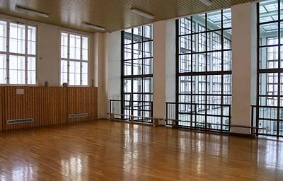 Gymnastikraum im Stadtbad Mitte - (C) Peter Hahn fotoblues