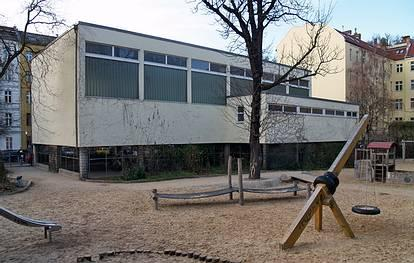 Sigmaringer Str. 4  -  Goethe-Gymnasium - (C) Peter Hahn fotoblues