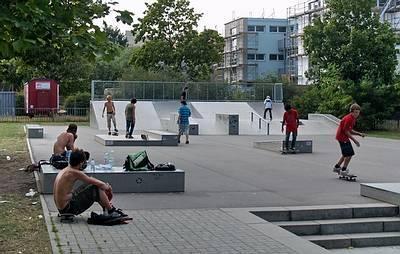 Skater Park Steig - (C) Peter Hahn fotoblues